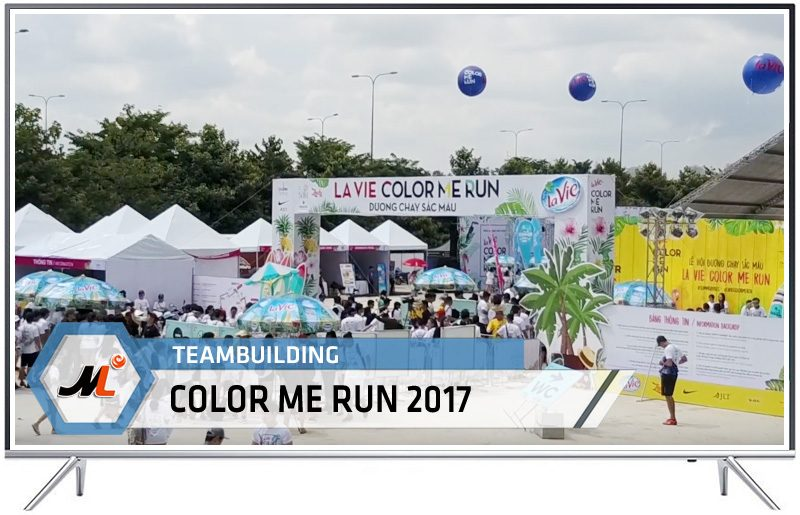 Teambuilding Color Me Run 2017