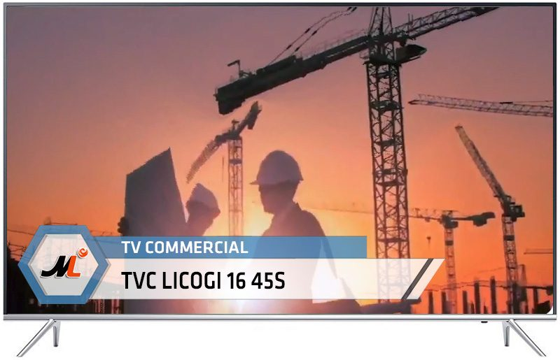 TV Commercial TVC LICOGI 16 45S